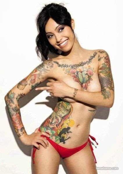 Girls with tattoos - Pictures nr 23