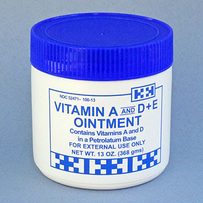 Vitamin A And D E Ointment Huck Spaulding Enterprises Tattooing