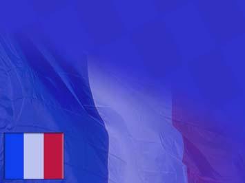 France Flag 02 Powerpoint Templates