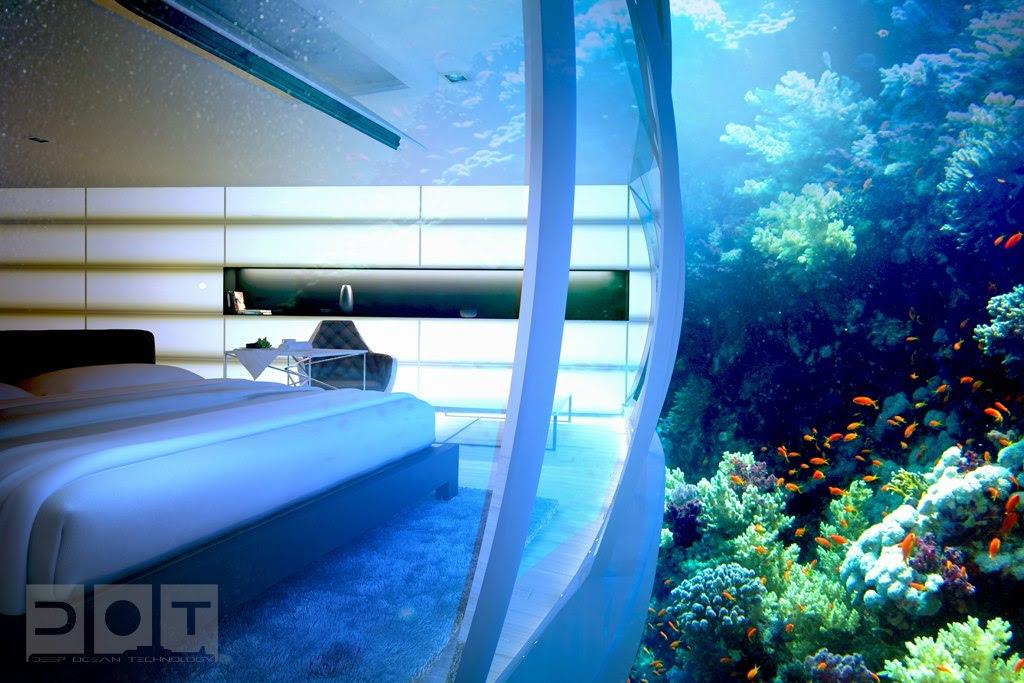 dubai underwater hotel rooms