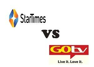 Gotv Jinja vs StarTimes Basic Bouquet Channel List 2020