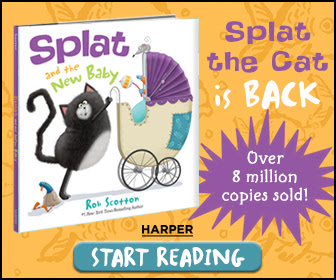 Splat the Cat: Splat and the New Baby by Rob Scotton