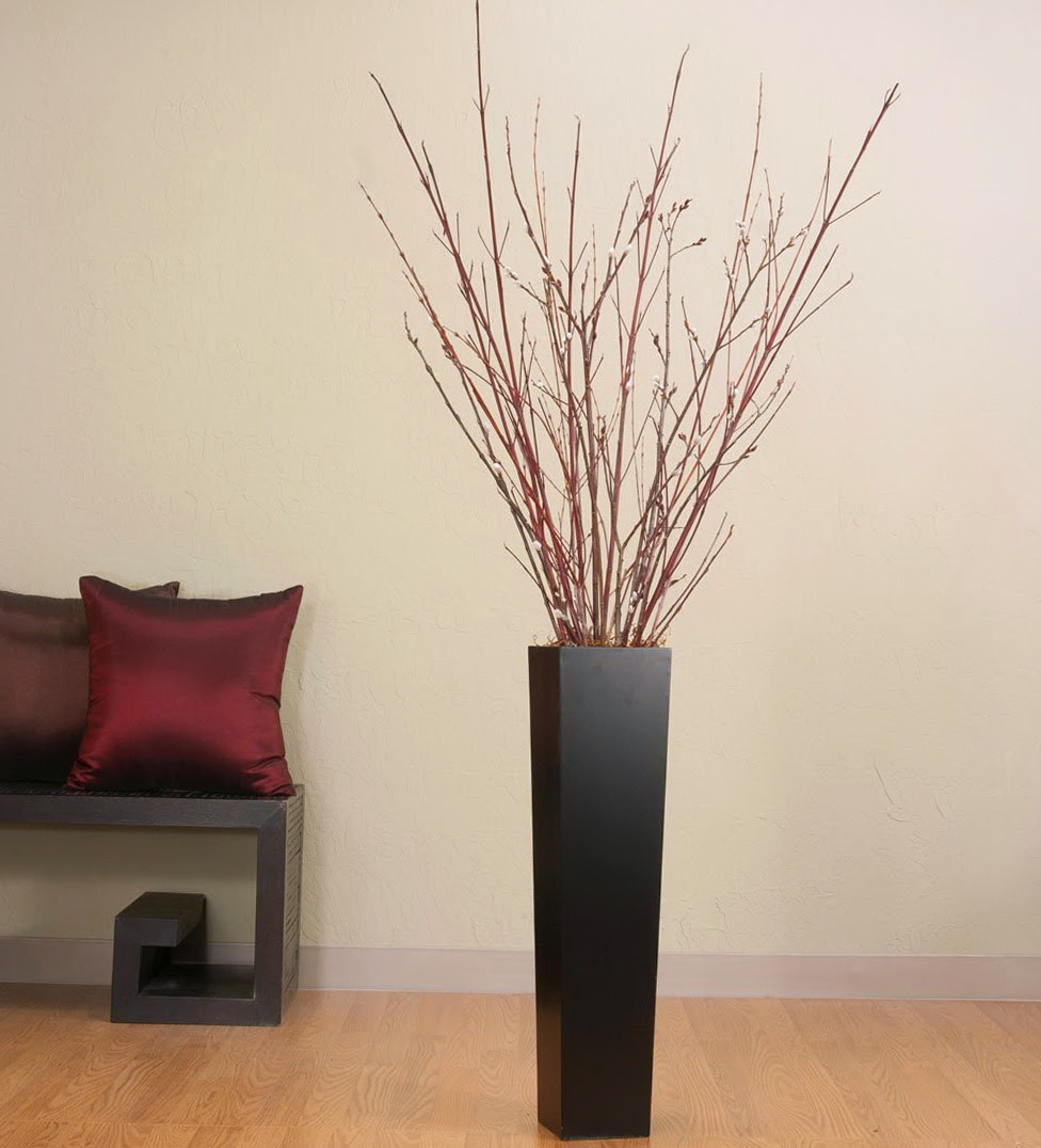 large floor vase decoration ideas