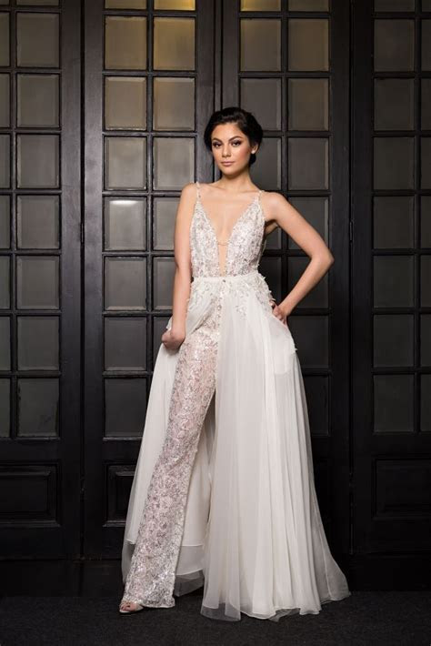 House of Ollichon loves Zenya Bridal Jumpsuit with