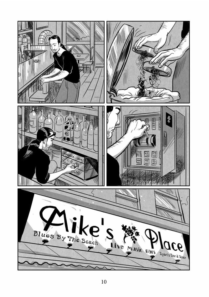 Image result for Mike's Place graphic novel
