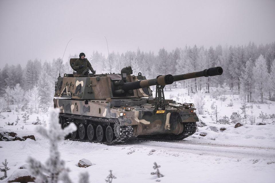 LKS 20170203 K9 Thunder panssarihaupitsi