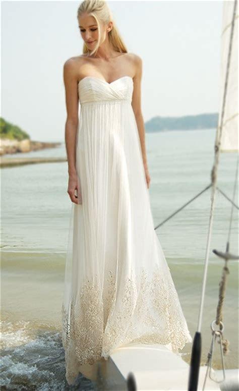 Casual Beach Wedding Dresses Glammed Up