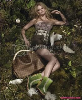 Lara Stone for Louis Vuitton Spring/Summer 2010 Ad Campaign
