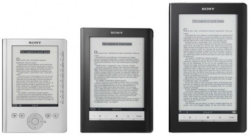 Sony reader by you.