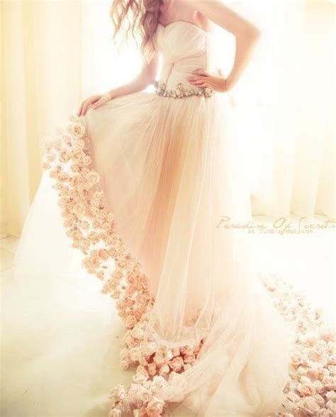 dress, roses, deta, wedding dress, white dress, white