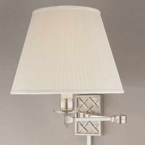 Lattice Swing Arm Wall Lamp - 3 finishes