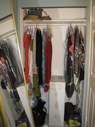 Nursery Nook Closet-Before
