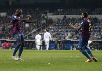 Barca - Real Madrid Copa Del Rey Pics