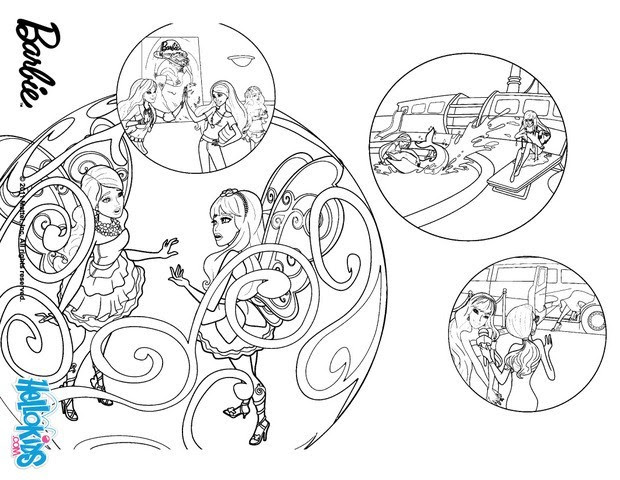 Fairies enter the flyway machine coloring pages ...