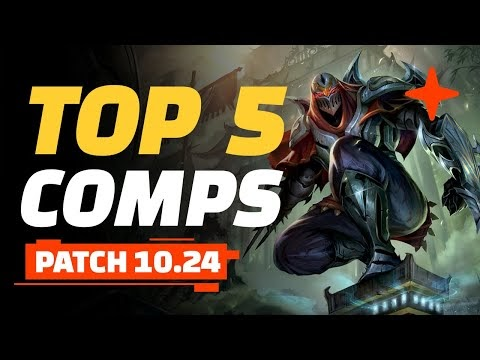 Top 5 TFT Comps - Teamfight Tactics Patch 10.24 Guide