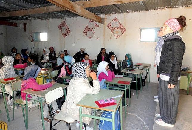 Campamento saharaui en Tinduf, en imagen de archivo. / LT