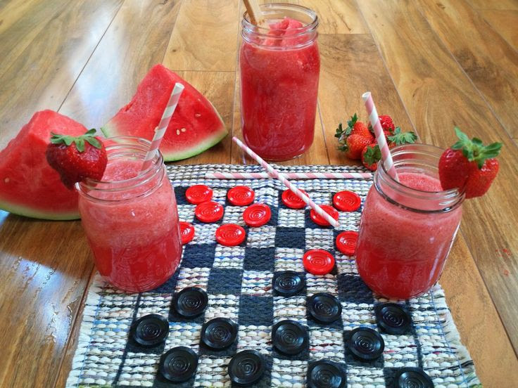 Strawberry Watermelon Spritzer