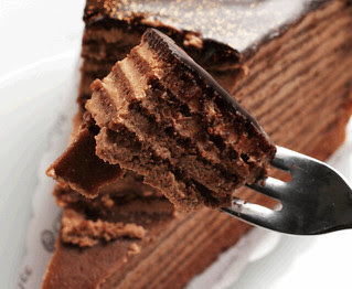 IMG_6931 Chocolate cake (Animated GIF/wiggle 3D)