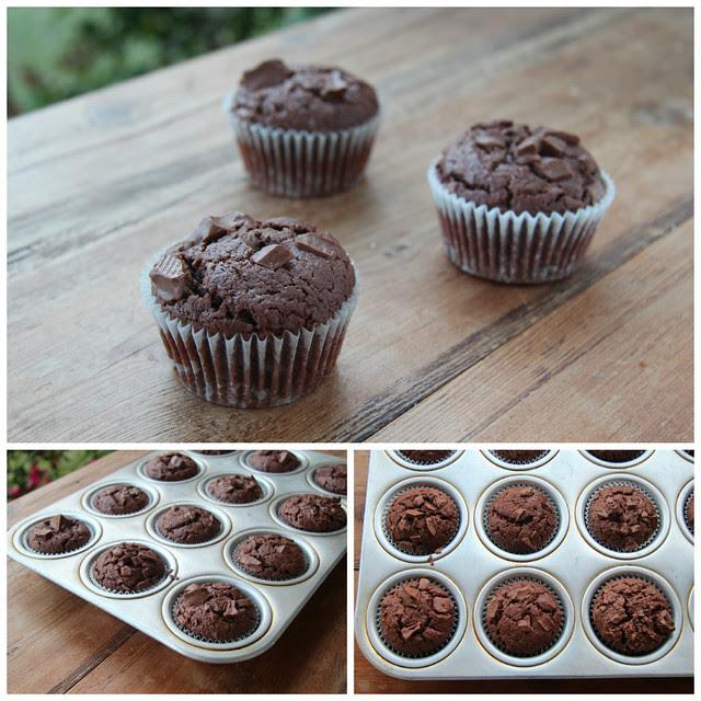 Milk Chocolate Muffin (Donna Hay)