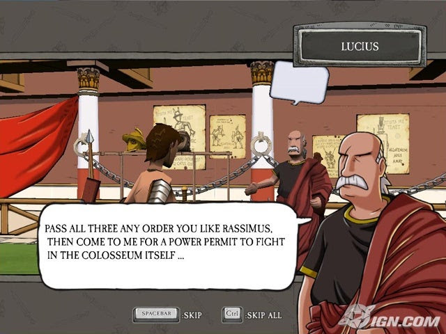 The Ruthless Romans  Screenshot