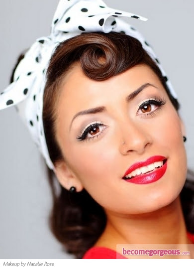 Rockabilly And Pin Up Girl Hairstyles