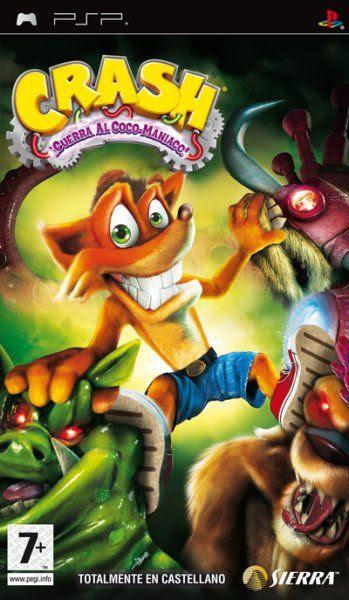 Carátula de Crash: ¡Guerra al Coco-Maniaco!