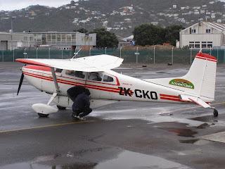 ZK-CKO Cessna C185D