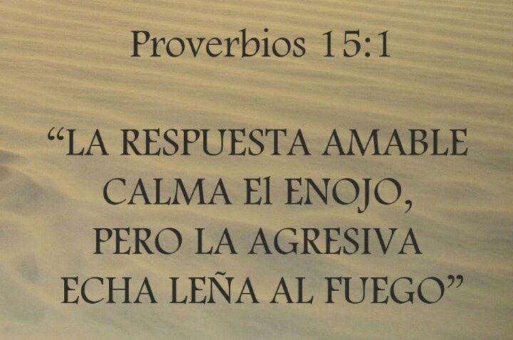 Resultado de imagen para Proverbio no. 15