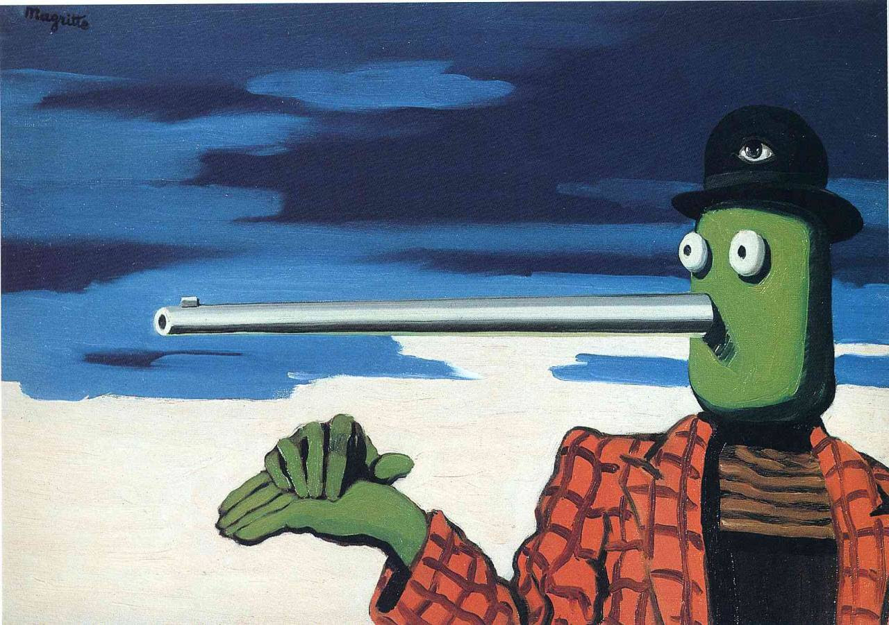 The ellipse, 1948 Rene Magritte