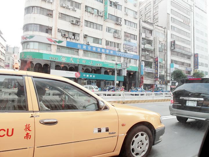 on cab at Taipei