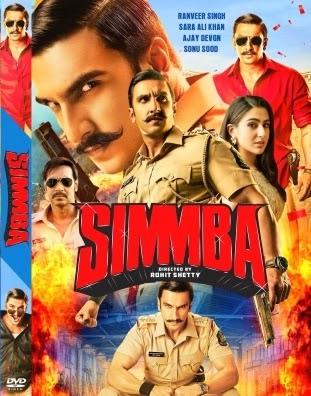 Simmba 2019 Hindi 720p BluRay 1.2GB
