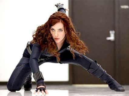 Scarlett Johansson, Iron Man 2