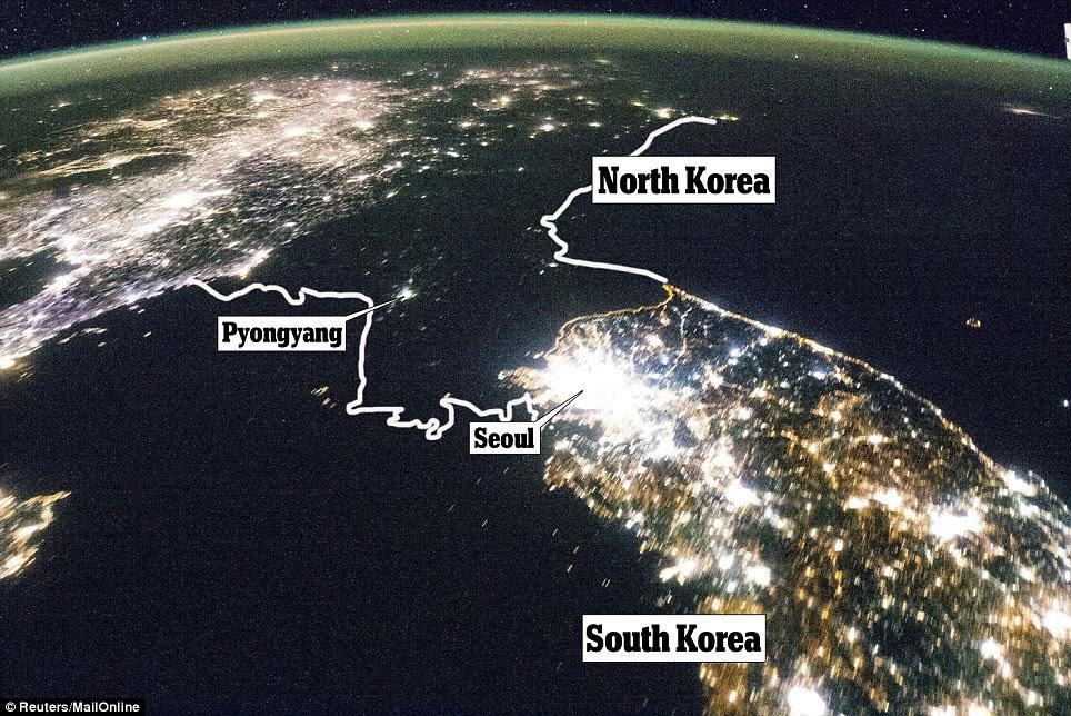 Image result for north korea vs south korea