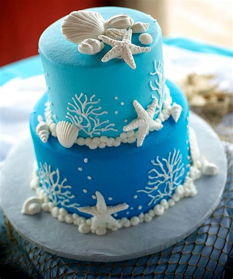Pin by Gem Junkie Jewels on Weddings Beach Cakes