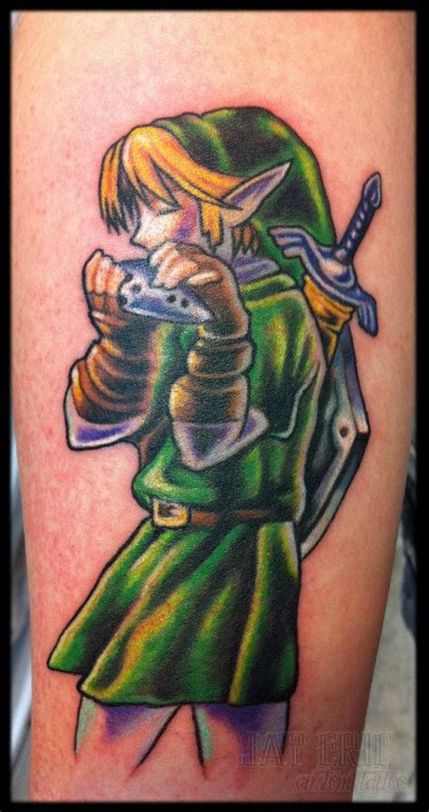 video games tattoos