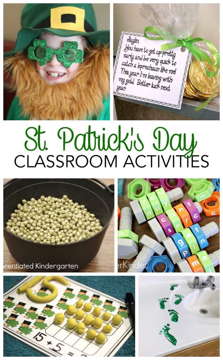 St Patricks Day Ideas For Your Classroom Differentiated Kindergarten