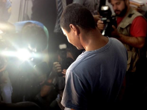 Homem que torturou e perfurou olhos de ex-mulher é preso em Goiânia, Goiás (Foto: Luísa Gomes/G1)