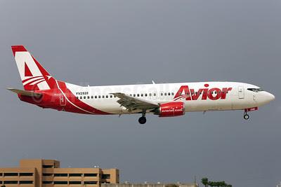 Avior Airlines Boeing 737-401 YV2928 (msn 23885) MIA (Javier Rodriguez). Image: 921266.