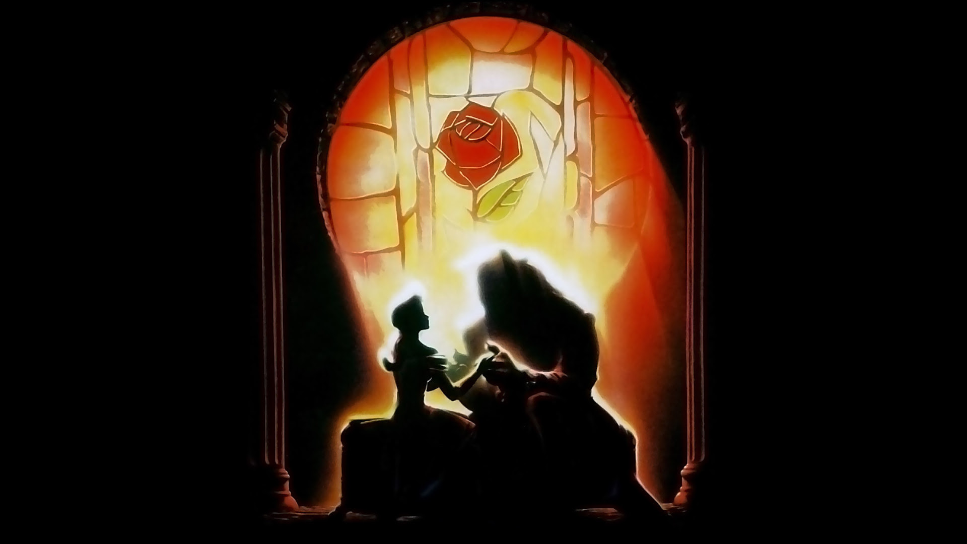 Beauty And The Beast 壁紙 Original Poster 美女と野獣 壁紙