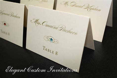 place cards indicate meal choice   Google Search