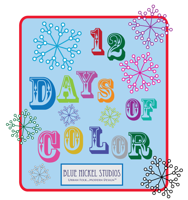 12 days of color logo