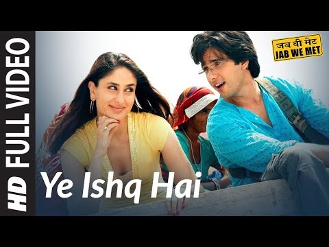 YEH ISHQ HAI SONG LYRICS - KAREENA KAPOOR, SHAHID KAPOOR