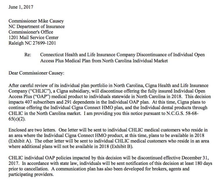2018 Rate Hikes: North Carolina (early look) | ACA Signups