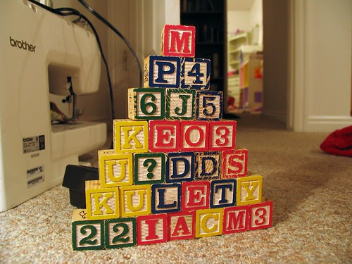 Children's Blocks by lobo235