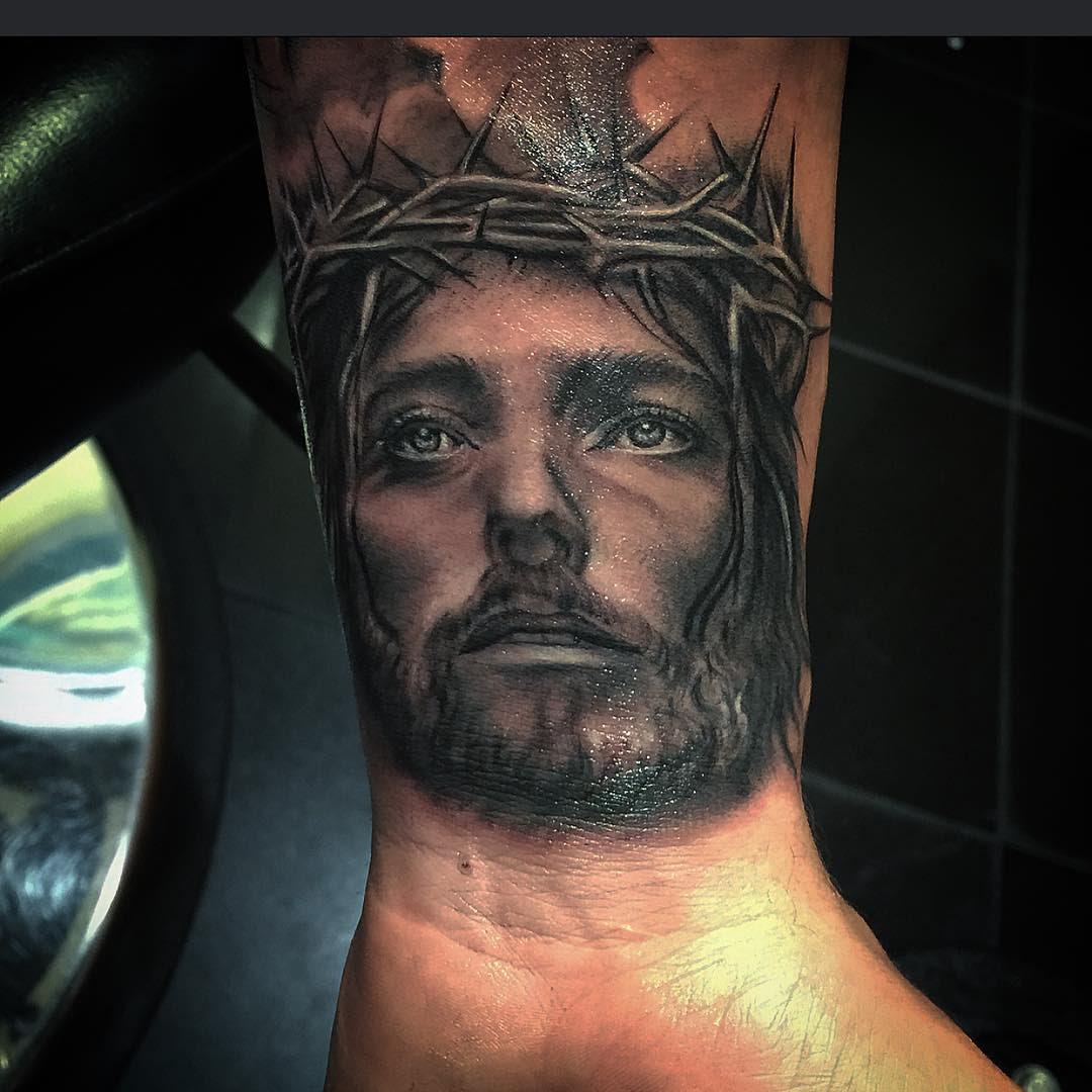 Jesus Tattoo On Wrist Best Tattoo Ideas Gallery