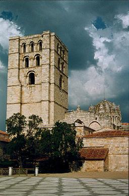 Torre del Salvador en la Catedral de Zamora