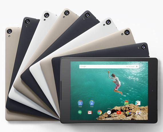 Nexus 9 revealed