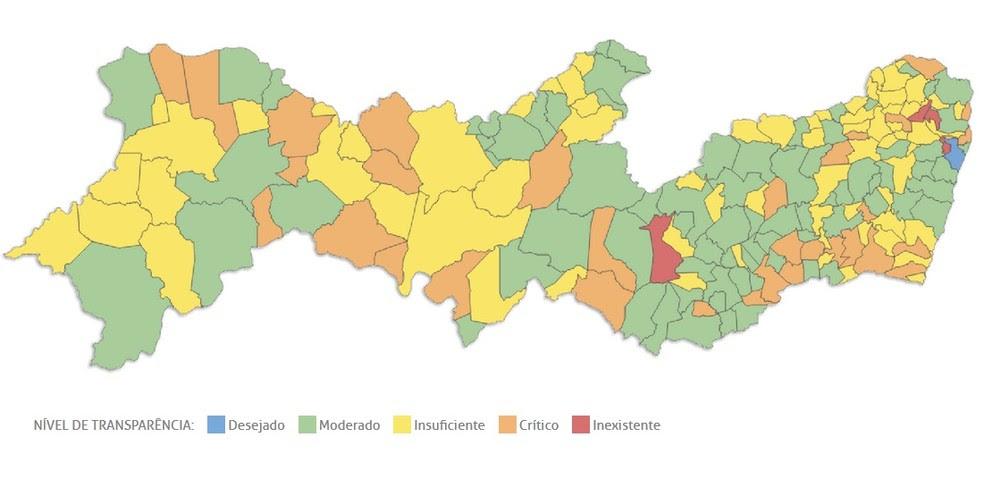 184 prefeituras tiveram os portais analisados pelo TCE-PE (Foto: Reprodução/TCE-PE)