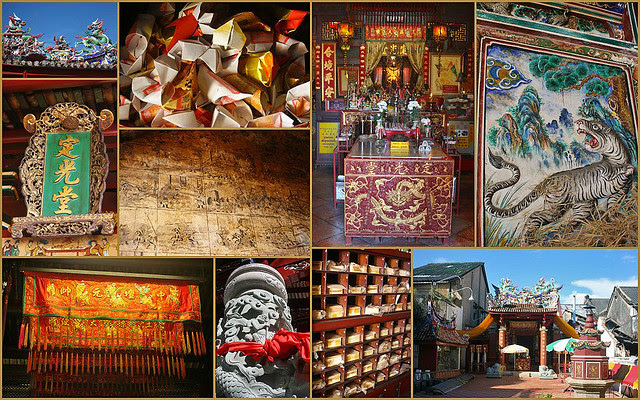 Saeng Tham Chinese Shrine, one of the oldest in Phuket City