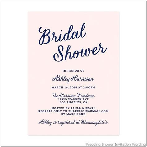 bridal shower : Gift card bridal shower invitation wording